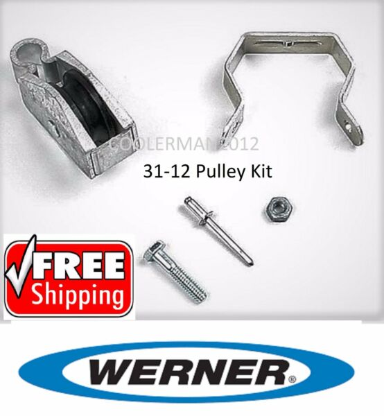 NEW!! Werner Replacement Pulley Kit 31-12  - Parts for Werner Extension Ladder