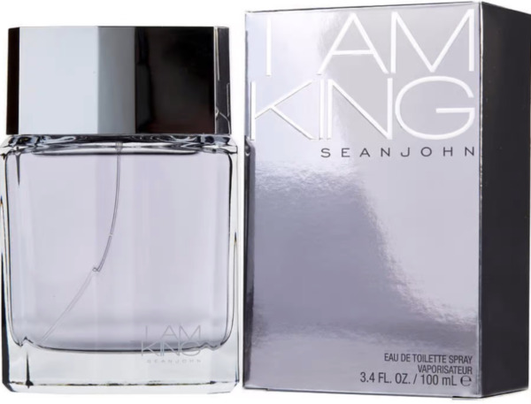 I AM KING by Sean John 3.4 oz 3.3 edt Men Cologne New in Retail BOX