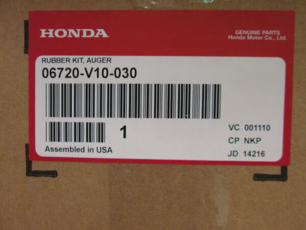 Honda HS520 720 OEM Snowblower Auger Kit with hardware 06720 V10 030 GREAT PRICE