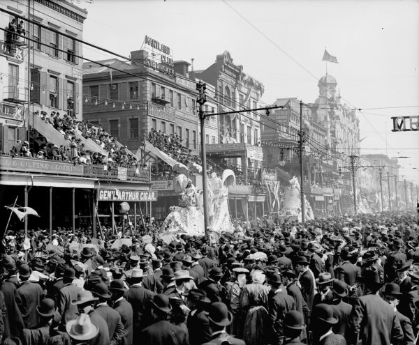 8x10 Historical Photo 1906 Mardi Gras Parade in New Orleans- REX PAGEANT