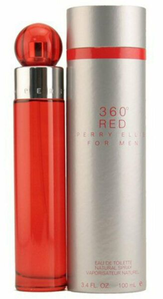 360 RED for Men by Perry Ellis Cologne 3.4 oz New in Box $22.97