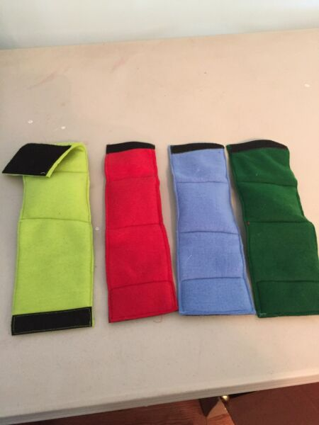 4 MALE DOG BELLY BANDS NO INSERTS LEAK PROOF JUST WASH AND DRY SOLID COLORS $16.99