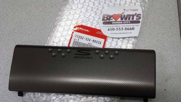 NEW GENUINE HONDA S2000 CR CARBON FIBER RADIO TRIM 77252 S2A 902ZG