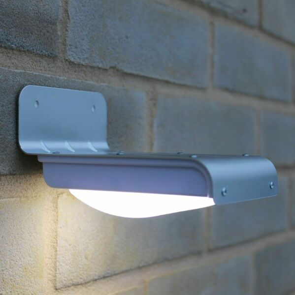 Solar Power Motion Sensor Garden Security Lamp 16 LED Outdoor Waterproof Light