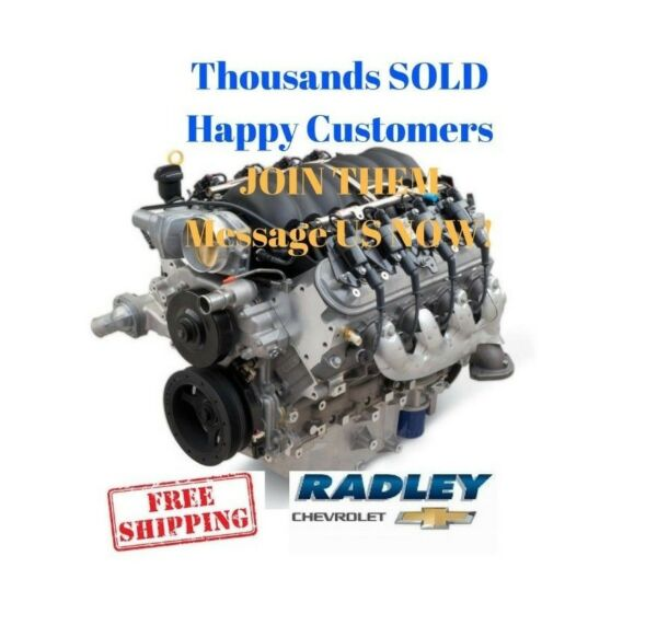 GM OEM Performance LS3 376 6.2L Gen IV 480 HP ENGINE 19301358 NEW CHEVY CRATE