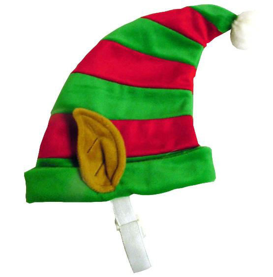 Dog Holiday Christmas ELF HAT Red Green S M or Lg Pet Dogs Xmas Costume $8.99