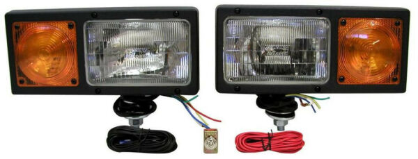 Peterson 505K BladeLights ® complete plow light kit wwiring harness