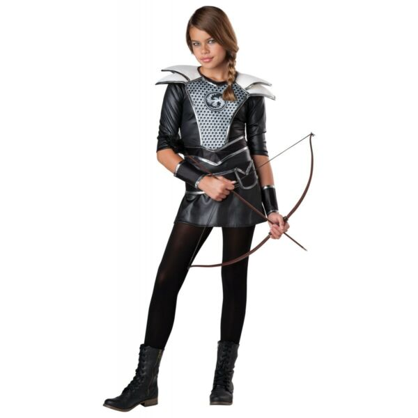Katniss Everdeen Costume Kids Hunger Games Halloween Fancy Dress