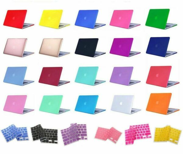 Laptop Rubberized Cover Case Hard Shell for Macbook Air/Pro/Retina 11