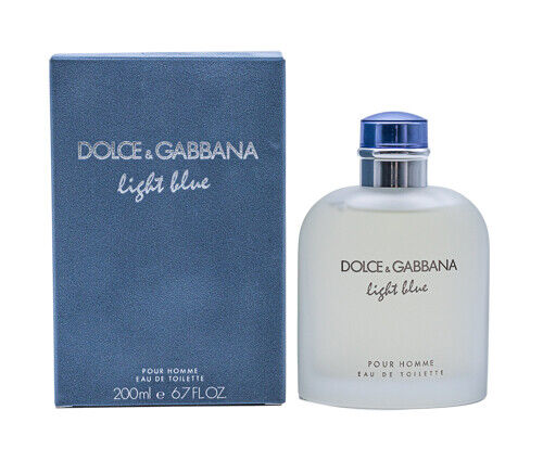 Light Blue by Dolce amp; Gabbana Damp;G 6.7 oz EDT Cologne for Men New In Box