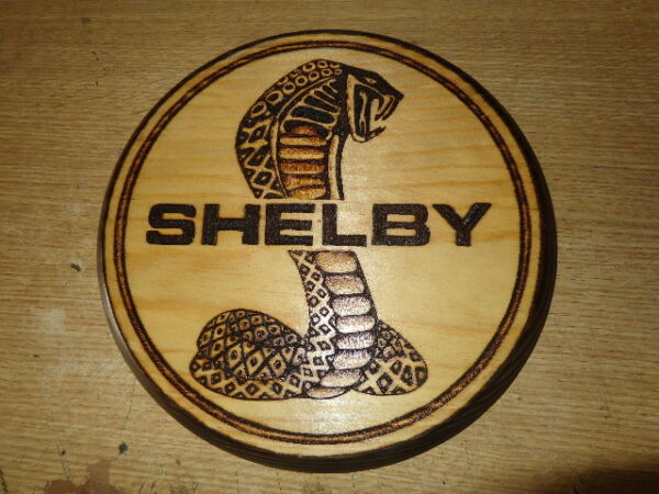 SHELBY pyrography SIGN OF WOOD