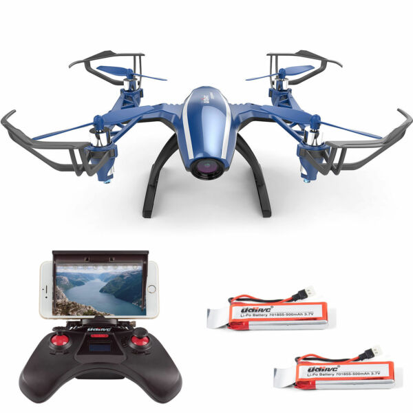 UDI U28W Wifi FPV Drone 2.4G 4CH Headless RC Quadcopter Drone with HD Camera RTF