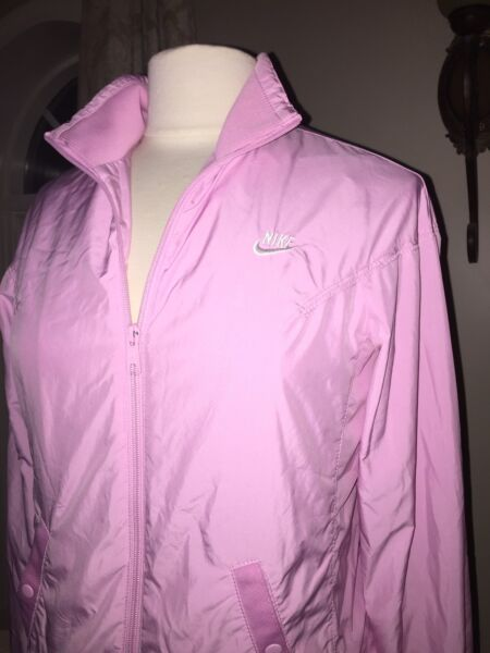 Women's Small•Nike Pink Athletic~Full Zip Jacket  Wpockets•EXCELLENT CONDITION