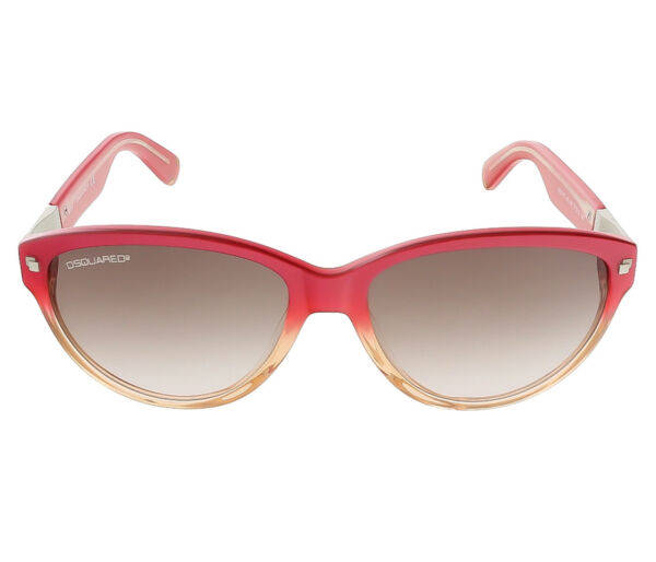 Dsquared DQ0147 S 44F Coral Gradient Cat Eye sunglasses $49.99