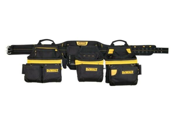 Dewalt 31-Pocket Pro Carpenters Apron Tool Belt Rig