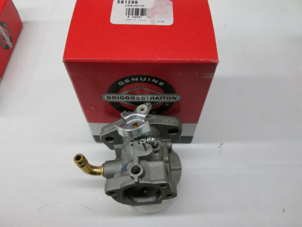 OEM BRIGGS CARBURETOR PART# 591299 $74.54