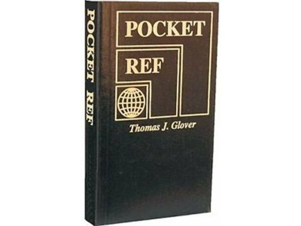 Pocket Ref 4th Edition (2010,Paperback,Unabridged - Free Shipping