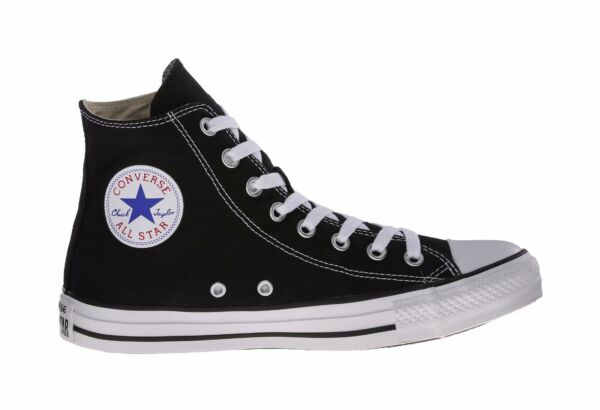 Converse Shoes Chuck Taylor All Star Hi Top Black White Men's Sneakers  M9160
