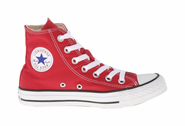 Converse Sneakers All Star Chuck Taylor Men Size Red Hi Top Canvas Shoes M9621