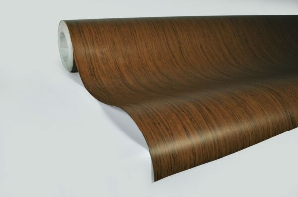 Professional quality Teak wood grain 30M  x 1.22M VV9 laminated furniture wrap
