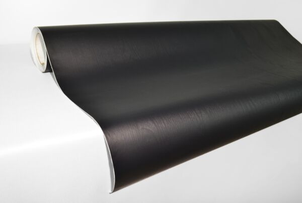 Professional quality Black wood grain 15M x 1.22M VV9 laminated furniture wrap