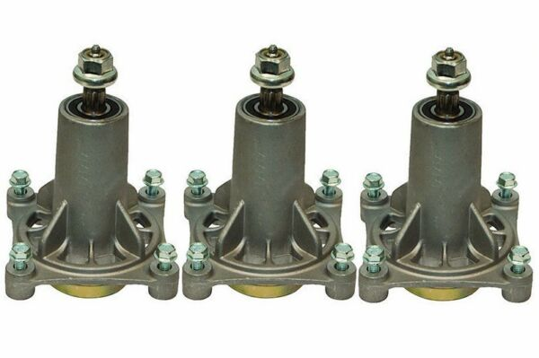 285 585 3pack SPINDLE ASSEMBLIES AYP AND HUSQVARNA MOWERS WITH 48 AND 54quot; DECK