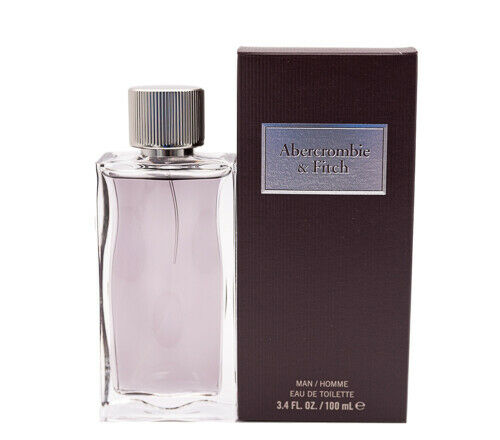 First Instinct by Abercrombie & Fitch 3.4 oz EDT Cologne for Men New In Box