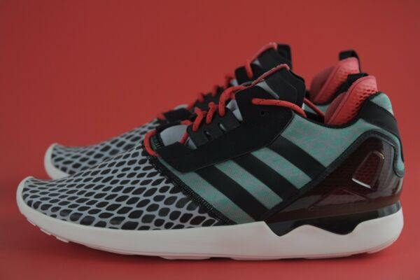 SALE! LAST PAIR! ADIDAS B24953 New ORIGINALS ZX 8000 BOOST BLK/RD/GRN Sz 13 ANB