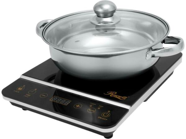 Rosewill Induction Cooker 1800 Watt Induction Cooktop Electric Burner with Sta