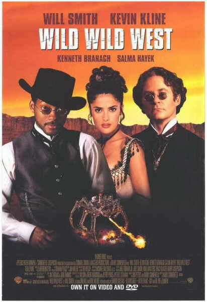 WILD WILD WEST Movie POSTER 11x17 B Will Smith Kevin Kline Kenneth Branagh Salma