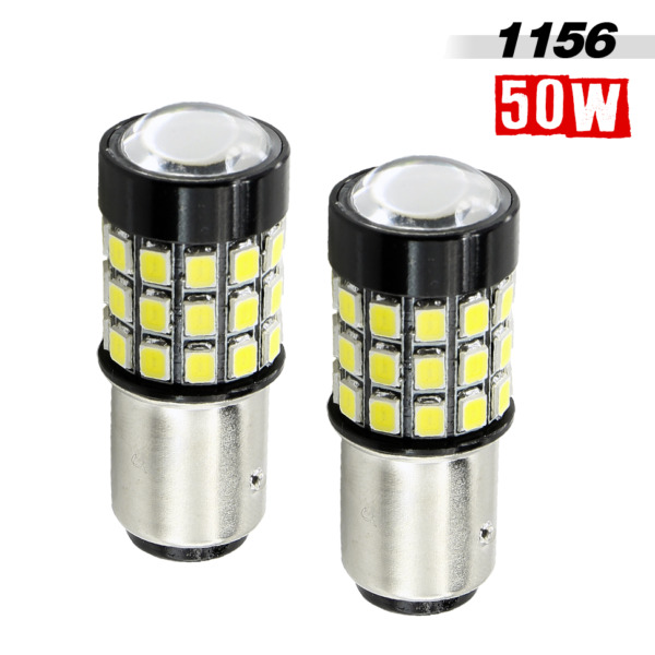 1156 High Power 760LM 39-LED Yellow Amber Turn Signal Brake Tail Light Bulbs