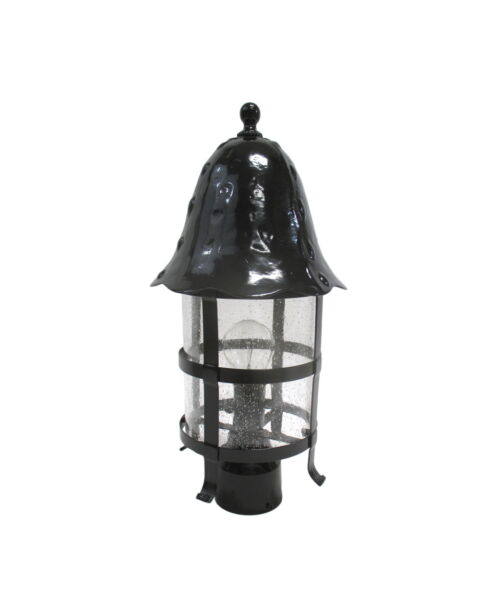 Black Cast Aluminum Exterior Post Top 18quot; X 10quot;