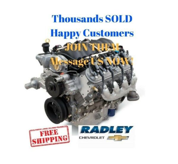 GM CHEVROLET CHEVY OEM Performance LS3 6.2L 376 / 430 HP Gen IV Engine 19370416