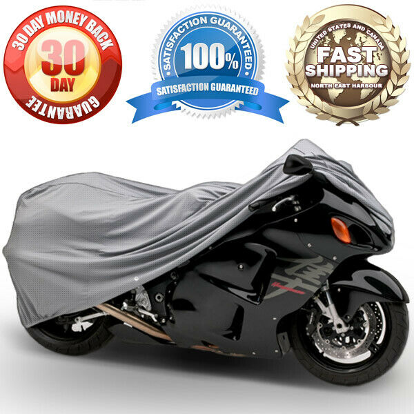 Motorcycle Bike 4 Layer Storage Cover Heavy Duty For Honda CBR 1000RR CBR1000 $31.99