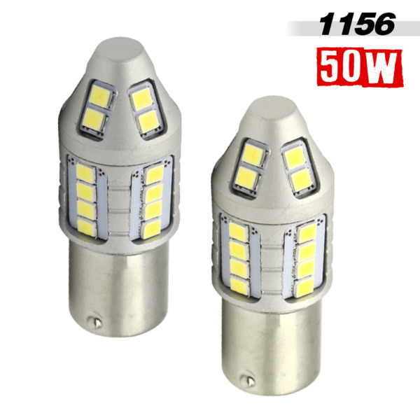1156 High Power 2835 30SMD LED Turn SignalBrakeReverse Back Up Light Bulbs