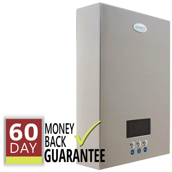 Electric Tankless Hot Water Heater 6.5 GPM Marey On Demand 4 Bath Whole House