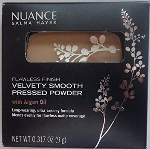 Nuance Salma Hayek velvety smooth pressed powder w argan oil select your shade