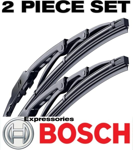 BOSCH Wiper Blades Direct Connect Size 24 & 18 - Front Left and Right Set New
