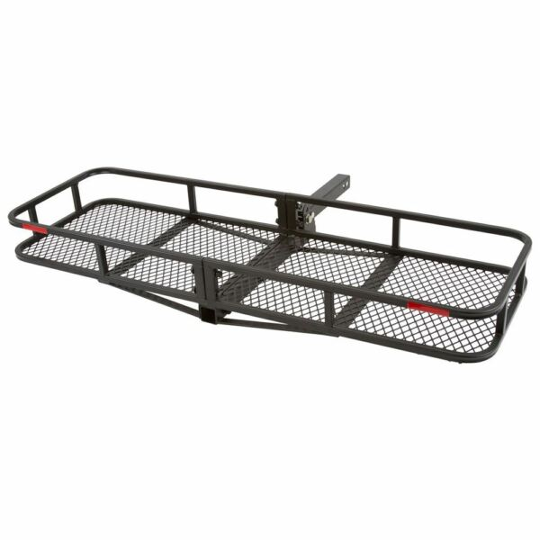 Elevate Outdoor CCB F6020 DLX 60quot; Long Steel Basket Folding Hitch Cargo Carrier $159.99