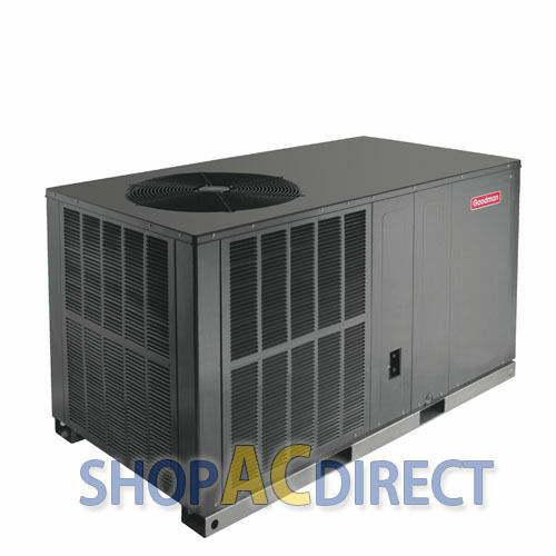 2.5 2 12 Ton 14 SEER Goodman Heat Pump All in One Package Unit GPH1430H41 + Pad