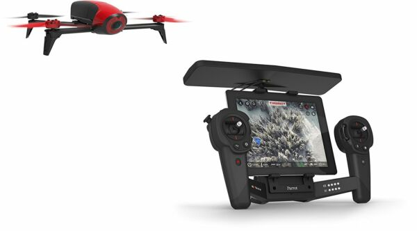 Parrot Bebop Drone 2 Red Quadcopter with Skycontroller