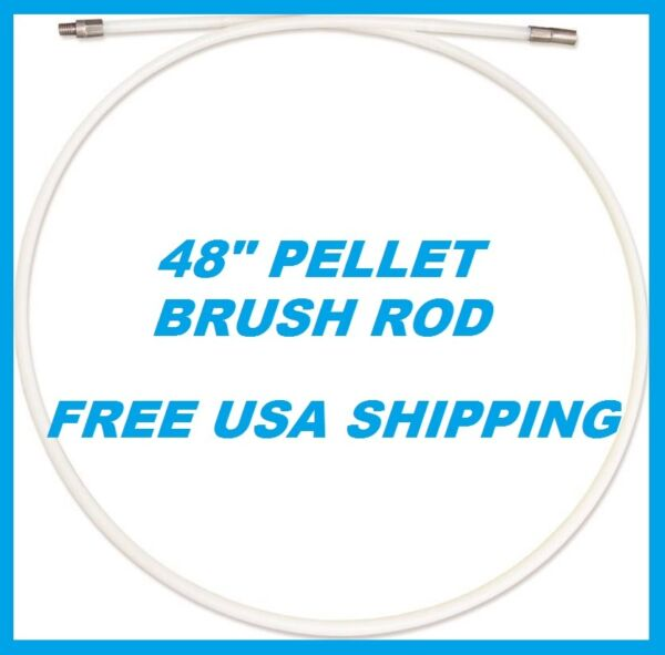 IMPERIAL 48quot; PELLET BRUSH ROD Fits Imperial Pellet Brushes NEW 4#x27; LONG #BR0238 $13.99
