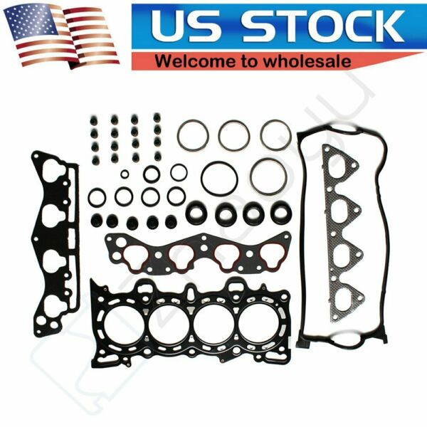 MLS Head Gasket Set Fits 96-00 Honda Civic Del Sol 1.6L SOHC D16Y5 D16Y7 D16Y8