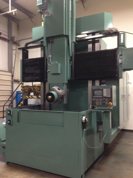 GIDDINGS AND LEWIS VERTICAL LATHE OHIO
