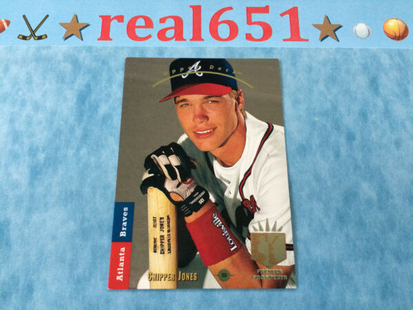 CHIPPER JONES 1993 SP Foil Rookie  Refractor  Serial #'d  Elite HOF  U-Pick