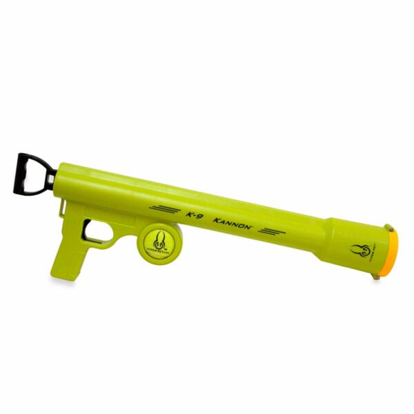 K9 Kannon Tennis Ball Launcher Gun Shooter Fun Dog Thrower Retriever Fetch Toy