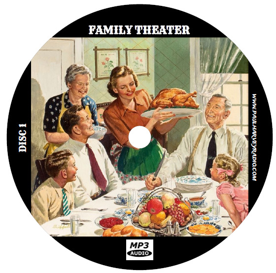 FAMILY THEATER (525 SHOWS) OTR MP3 7-CD'S