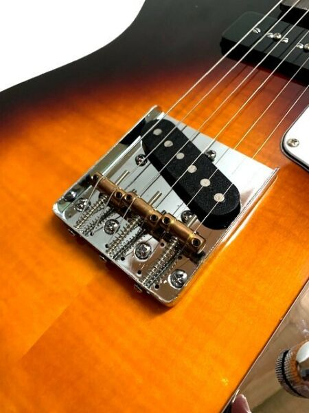 NEW 6 STRING LP STYLE 56#x27; VINTAGE GOLD TOP ELECTRIC GUITAR P 90 MAH BODY amp; NECK $199.99
