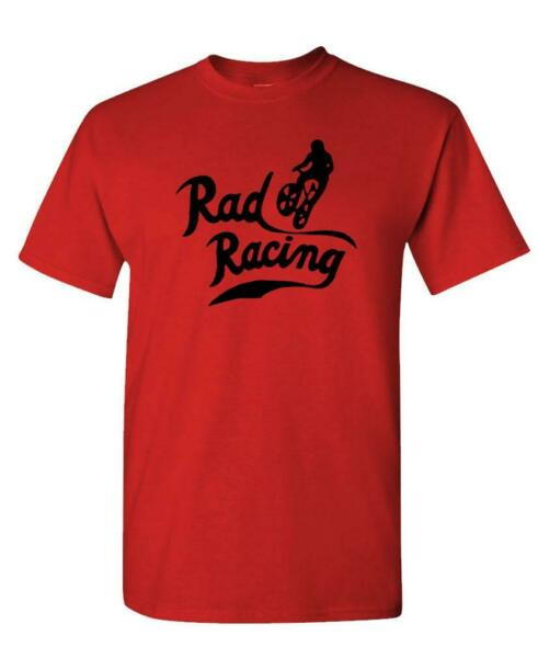 RAD RACING - retro vintage 80's movie bmx - Cotton Unisex T-Shirt