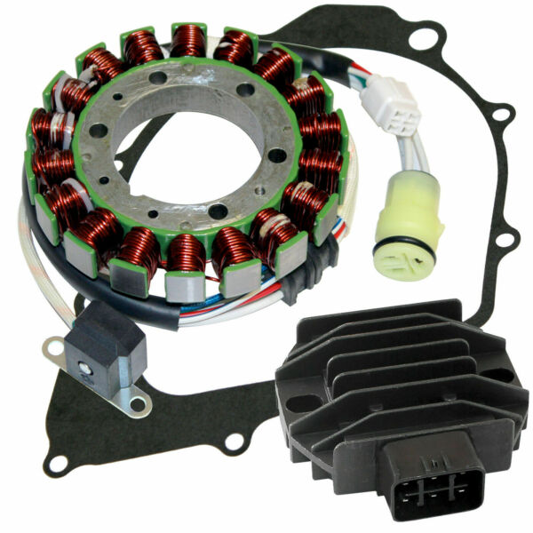 Stator And Regulator Rectifier W Gasket for Yamaha Raptor 350 YFM350R 2004 2013 $52.00